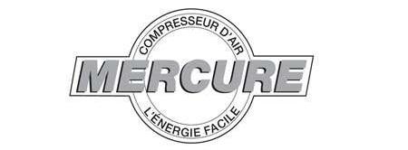 logo marque compresseur MERCURE