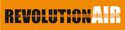 logo marque compresseur REVOLUTION'AIR